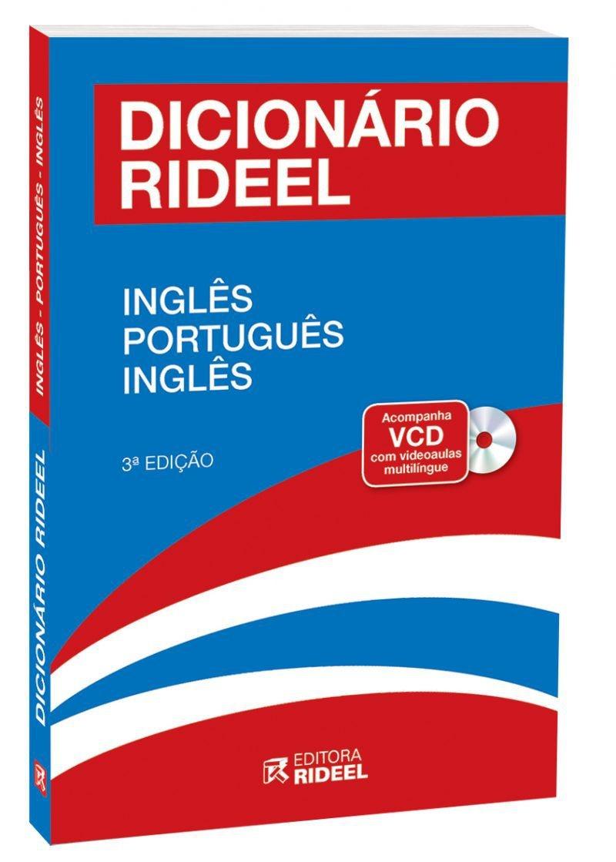 Imagem - Dicionário Rideel de Inglês  cód: 9788533942738