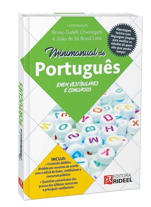 Imagem - Minimanual de Português: Enem, vestibulares e concursos  cód: 9788533941953