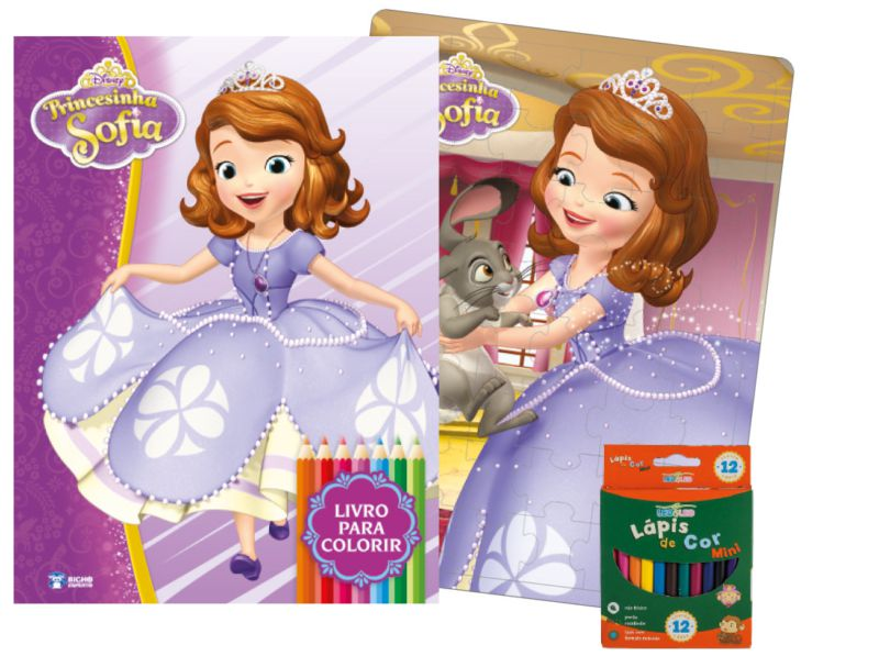 Imagem - Kit Diversão Disney - Princesinha Sofia - 9788533939042