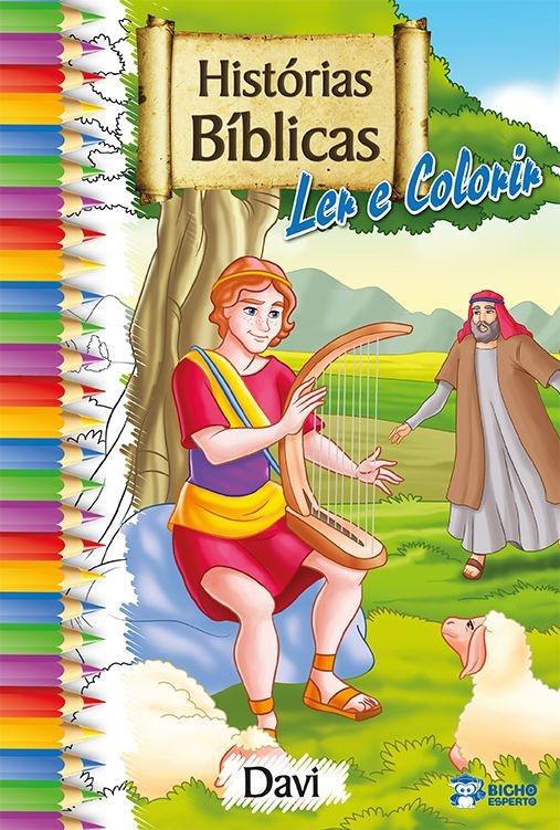 Imagem - Histórias Bíblicas para Ler e Colorir - Davi - 9788533924840
