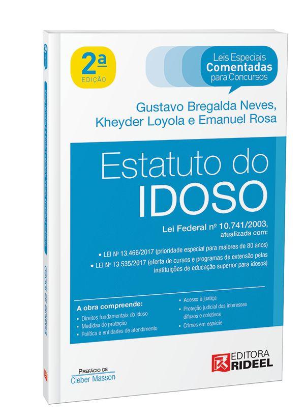 Imagem - Leis Especiais Comentadas - Estatuto do Idoso - 2ª edição cód: 9788533950702