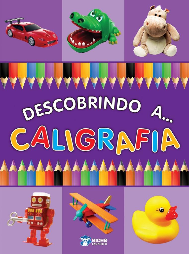 Imagem - Cartilha - Descobrindo a Caligrafia  - 9788533942950