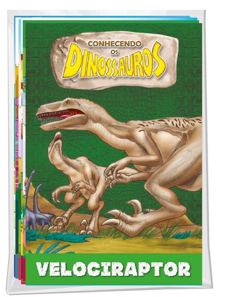 Imagem - Solapa Média de Histórias (Pct 08 livros)  - Dinossauros - 9788533931503