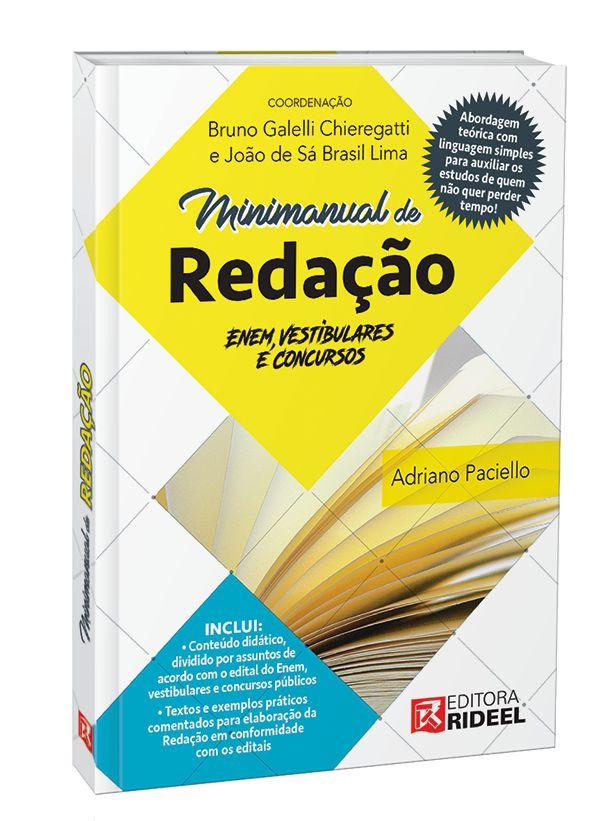 Imagem - Minimanual de Redação: Enem, vestibulares e concursos - 1ª edição - 9788533950795