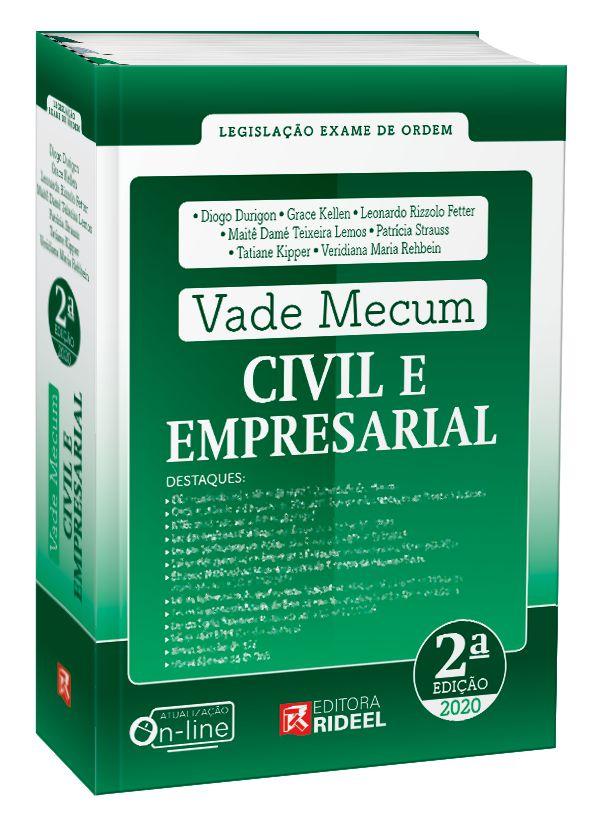 Imagem - Vade Mecum Civil e Empresarial - 2ª edição cód: 9788533958760