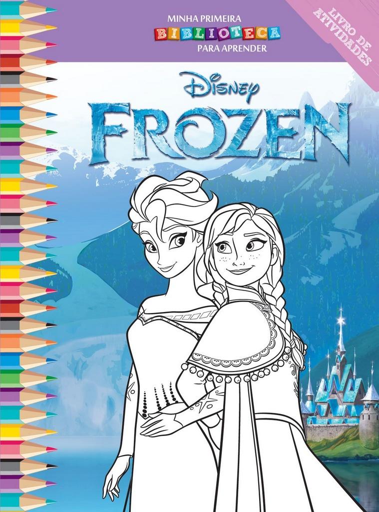 Imagem - Biblioteca Colorir Disney - Frozen - 9788533945456
