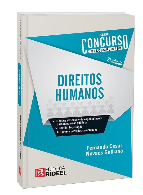 Imagem - Concurso Descomplicado - Direitos Humanos  cód: 9788533938106