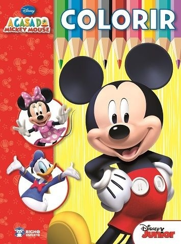 Imagem - Colorir e Aprender Disney - A Casa do Mickey Mouse cód: 9788533936171