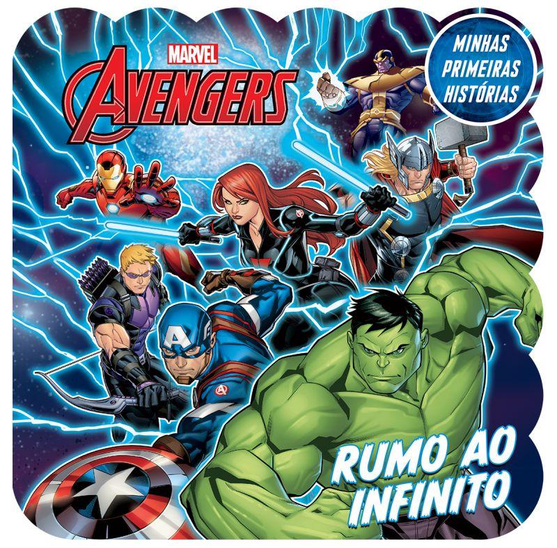 Imagem - Minhas Primeiras Histórias Marvel - Vingadores Rumo ao Infinito  cód: 9788533952492
