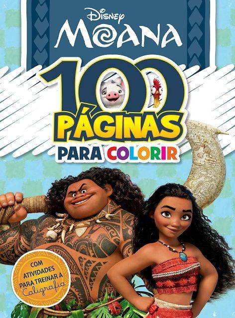 Imagem - 100 Páginas para Colorir Disney - Moana - 9788533941984