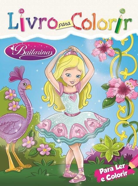 Imagem - Livro para Colorir: Bailarina cód: 9788533928008