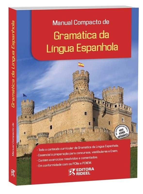 Imagem - Manual Compacto de Gramática da Língua Espanhola - Ensino Médio - 9788533920088