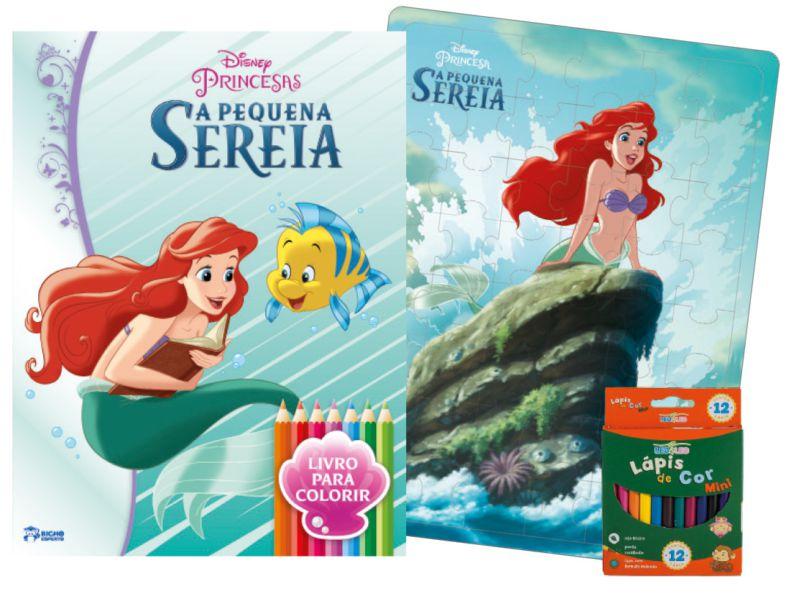 Imagem - Kit Diversão Disney - A Pequena Sereia - 9788533939011