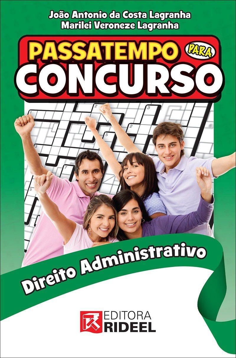 Imagem - Passatempo para Concurso - Direito Administrativo cód: 9788533937895
