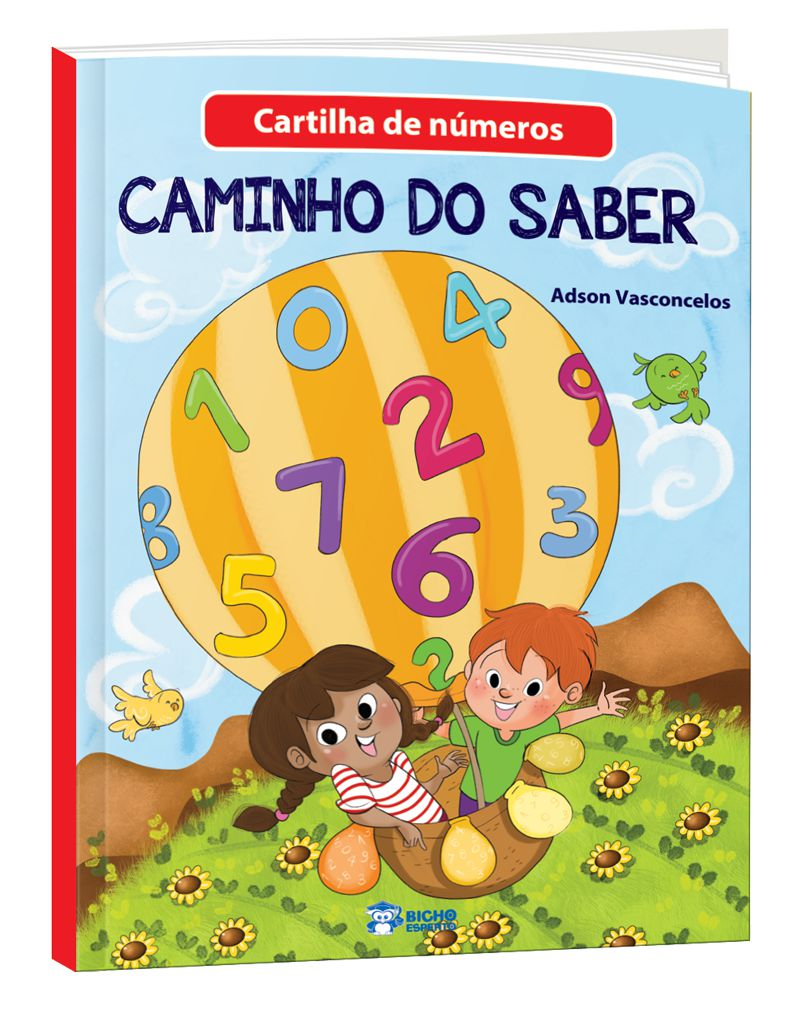 Imagem - Cartilha de Alfabetização Caminho do Saber - Aprendendo os Números  cód: 9788533952676