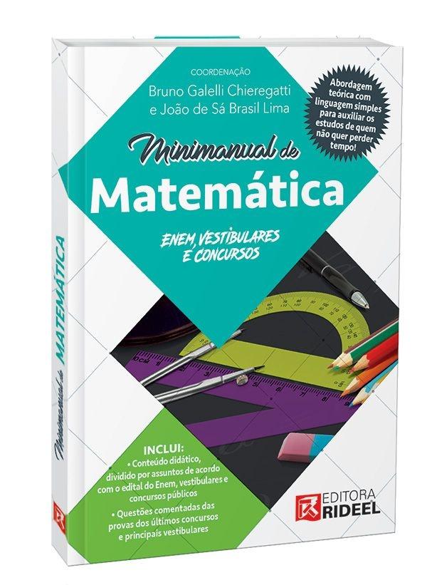 Imagem - Minimanual de Matemática: Enem, vestibulares e concursos cód: 9788533941922