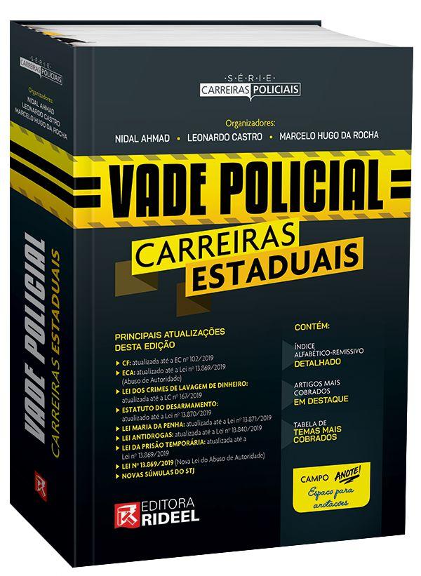 Imagem - Vade Policial Carreiras Estaduais - 1ª edição  cód: 9788533957145