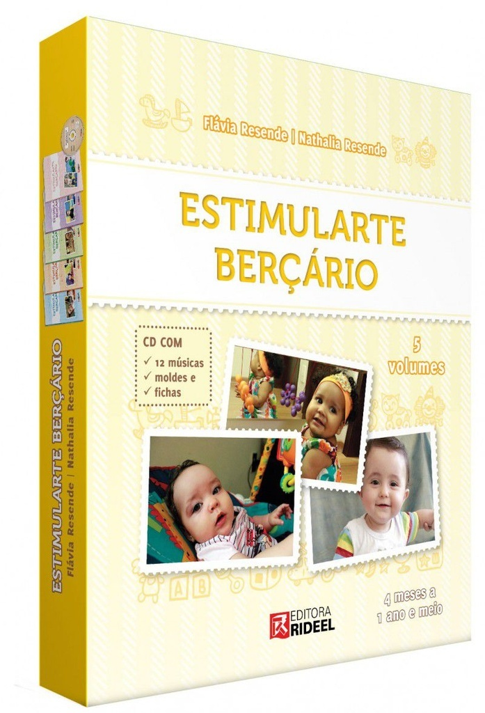 Imagem - Coleção Estimularte Berçário cód: 9788533935419