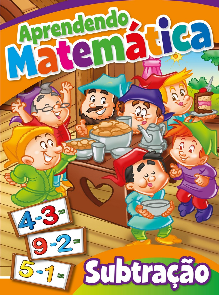 Imagem - Aprendendo Matemática Subtração - 9788533928862