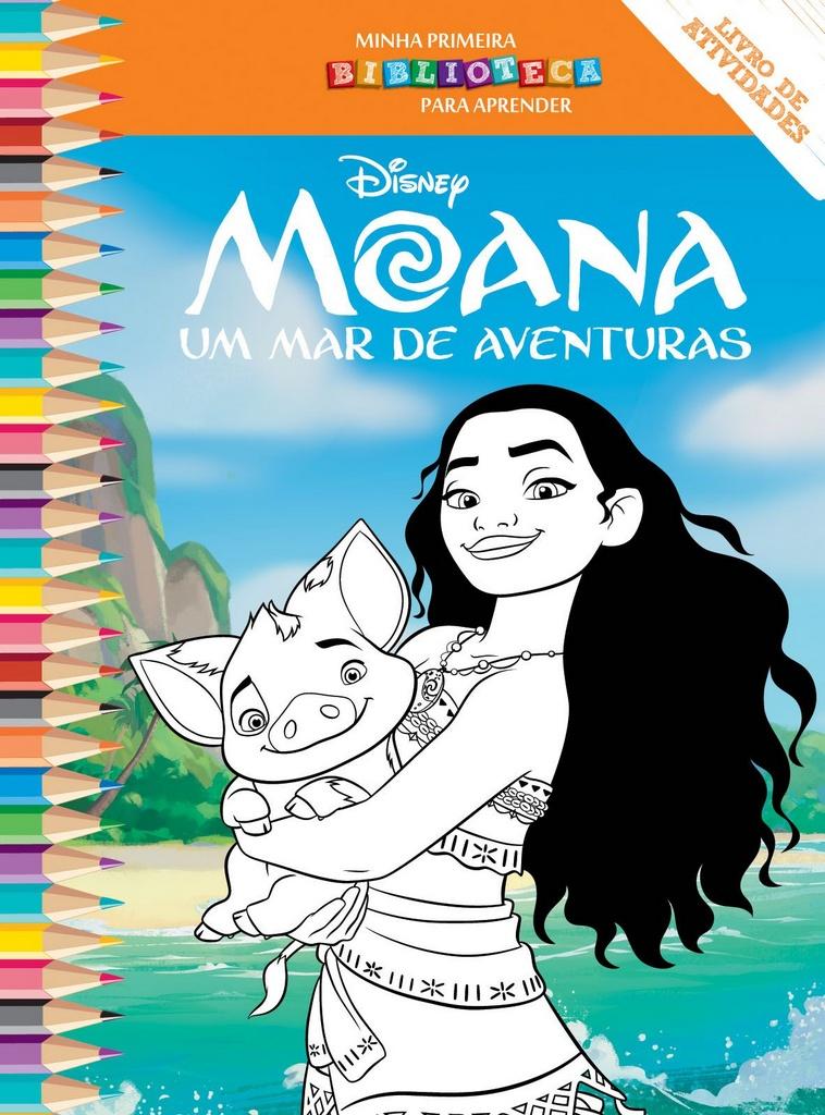 Imagem - Biblioteca Colorir Disney - Moana cód: 9788533945449