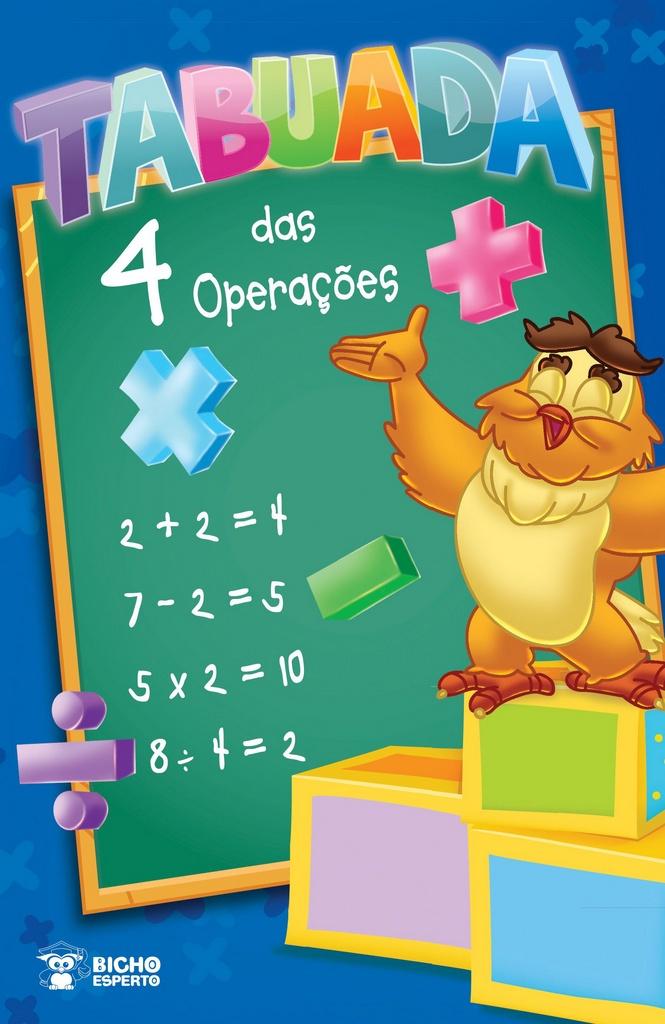 Imagem - Tabuada das 4 Operações (econômico) - Pct com 08 livros iguais cód: 9788533922549