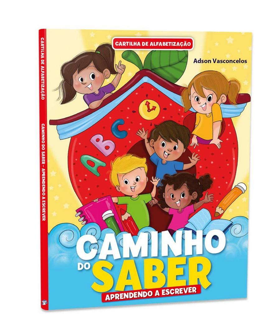 Imagem - Cartilha de Alfabetização Caminho do Saber - Aprendendo a Escrever  - 9788533942981