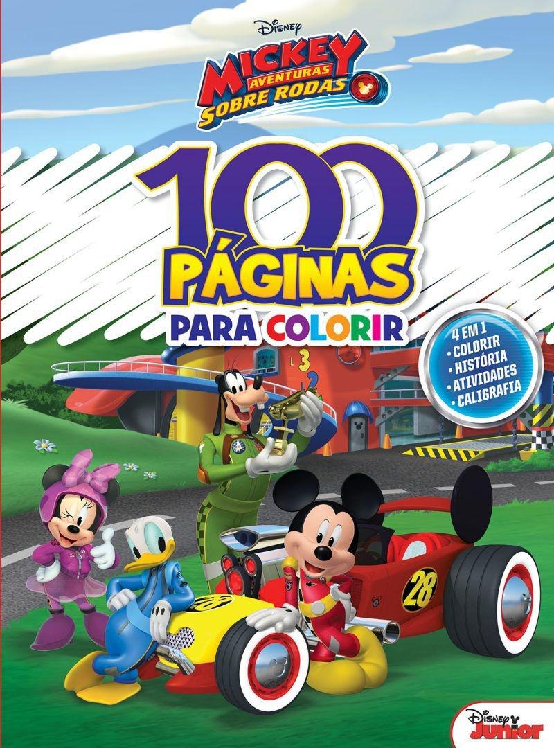 Imagem - 100 Páginas para Colorir Disney - Mickey cód: 9788533945531