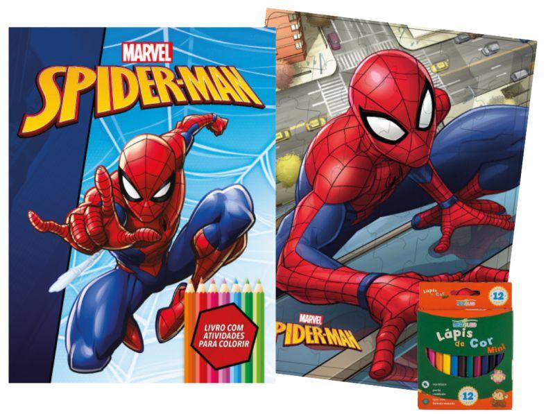 Imagem - Kit Diversão Marvel - Homem Aranha - 9788533951754