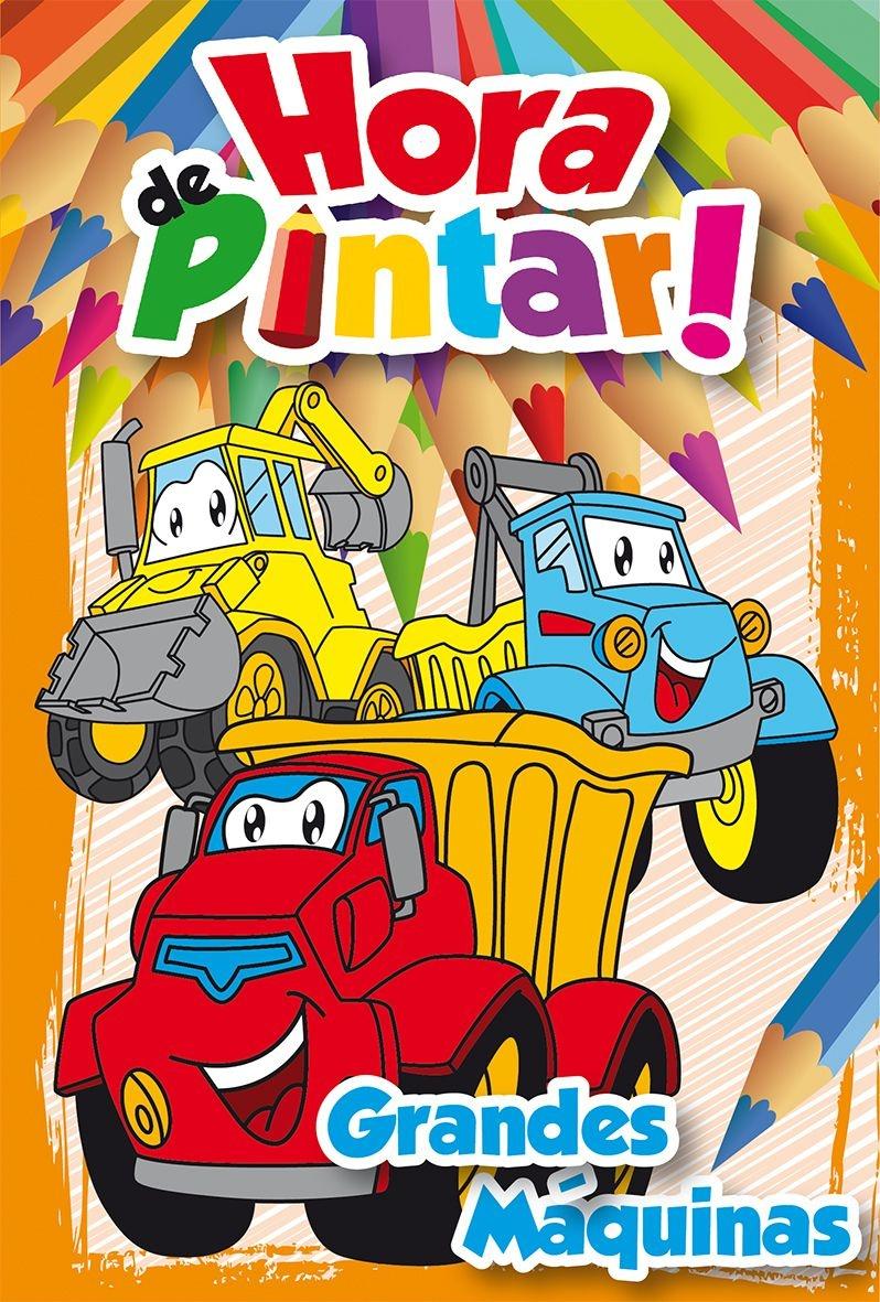 Imagem - Hora de Pintar - Grandes Máquinas cód: 9788533932401