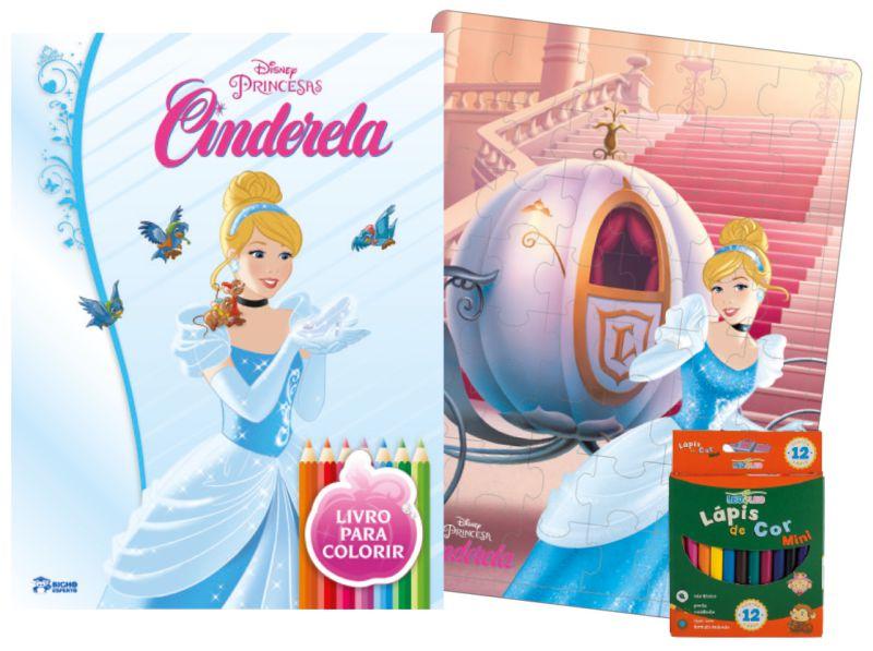 Imagem - Kit Diversão Disney - Cinderela cód: 9788533939080