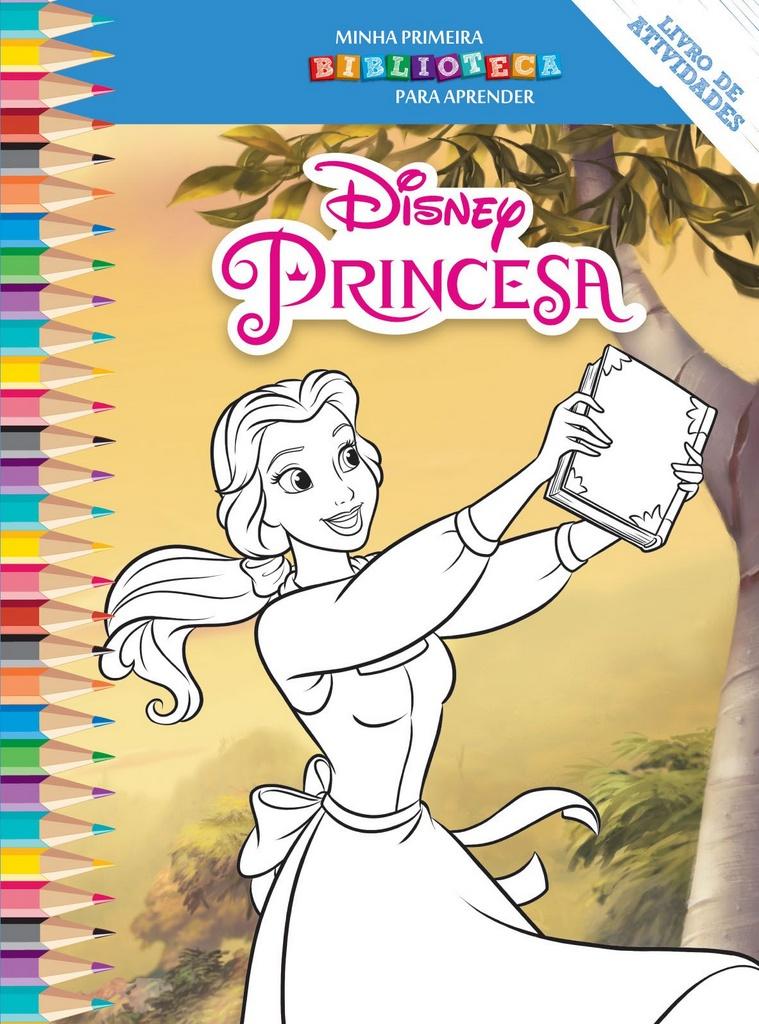 Imagem - Biblioteca Colorir Disney - A Bela e a Fera - 9788533945401