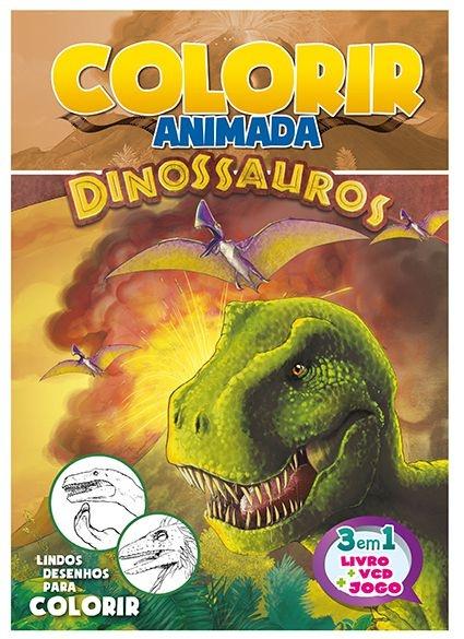 Imagem - Colorir Animada - Dinossauros - 9788533926769