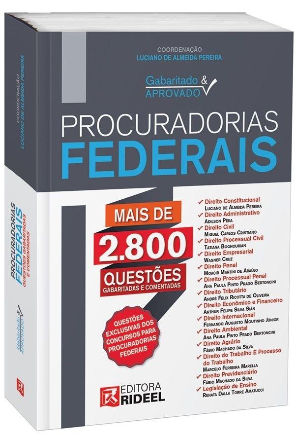 Imagem - Gabaritado e Aprovado - Procuradorias Federais - 1ª edição cód: 9788533935778