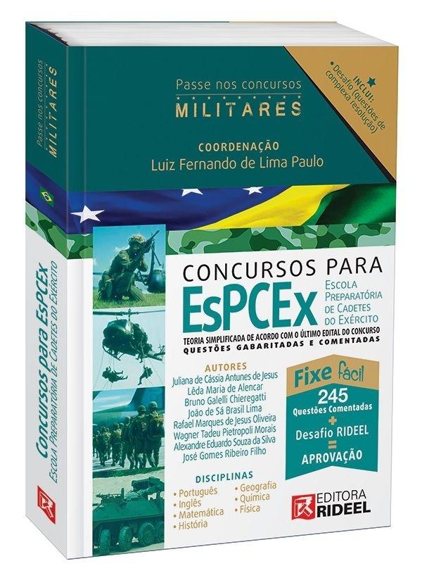Imagem - Carreiras Militares - EsPCEx - Escola de Cadetes do Exército - 1ª edição cód: 9788533935594