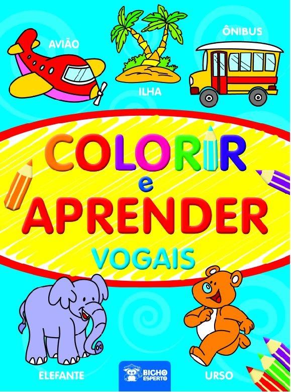 Imagem - Colorir e Aprender - Vogais cód: 9788533932142