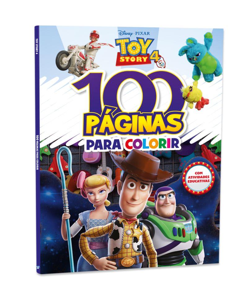 Imagem - 100 Páginas para Colorir Disney - Toy Story 4 cód: 9788533955813