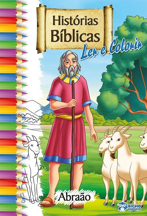 Imagem - Histórias Bíblicas para Ler e Colorir - Abraão - 9788533924819