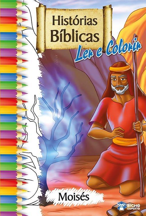 Imagem - Histórias Bíblicas para Ler e Colorir - Moisés - 9788533924871