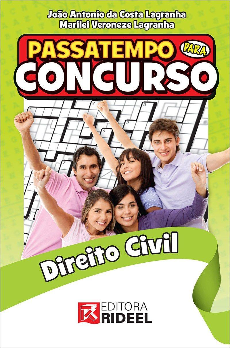 Imagem - Passatempo para Concurso - Direito Civil cód: 9788533937901