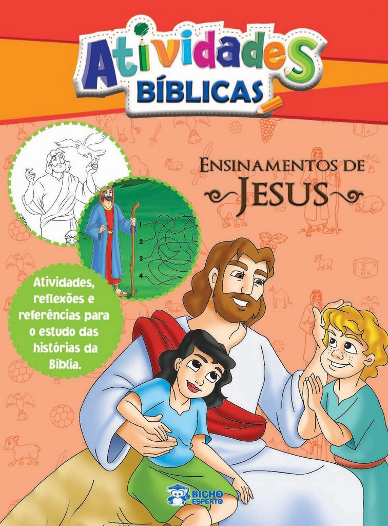 Imagem - Atividades Bíblicas - Ensinamentos de Jesus - 9788533928695