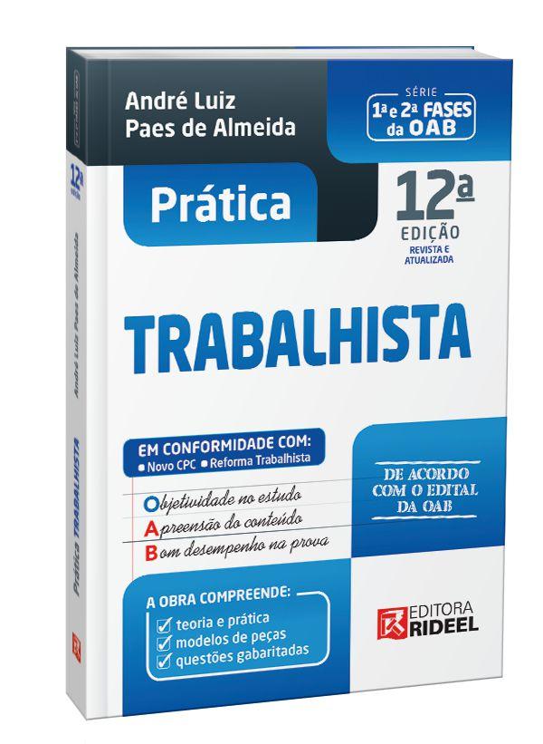 Imagem - Prática Trabalhista - 12ª edição cód: 9788533955264