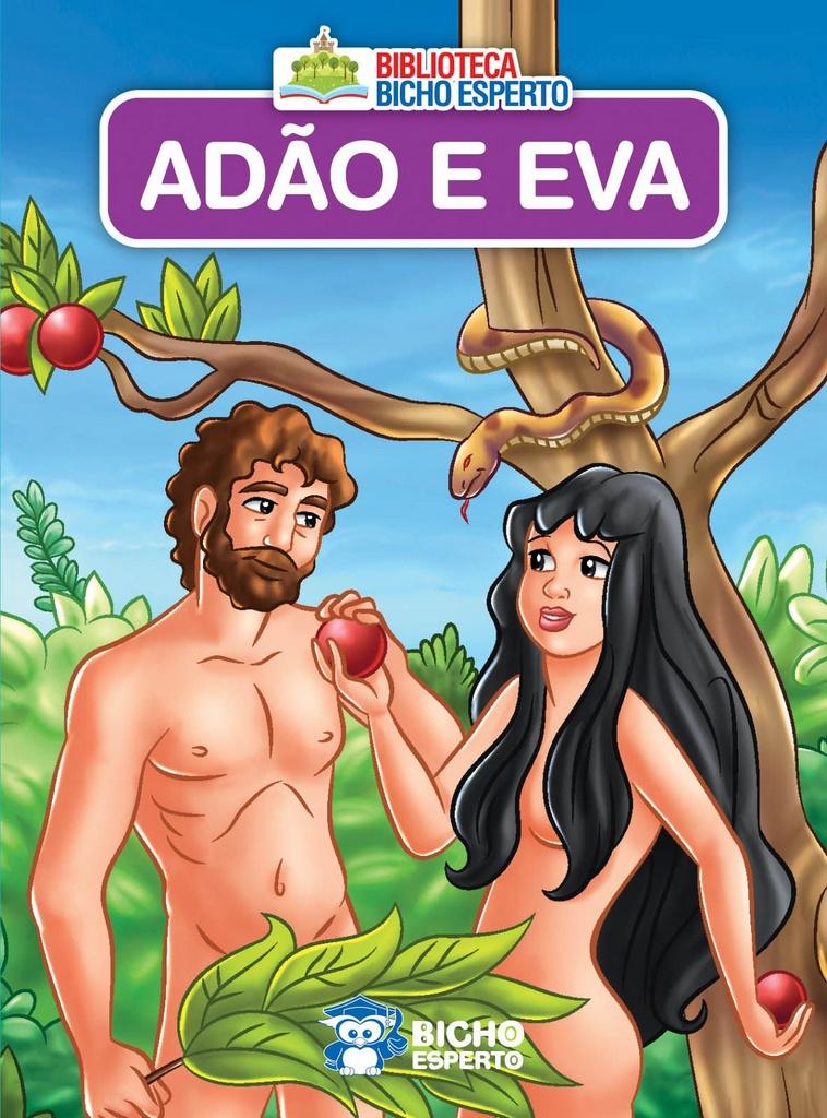 Imagem - Biblioteca Bíblica - Adão e Eva cód: 9788533943155