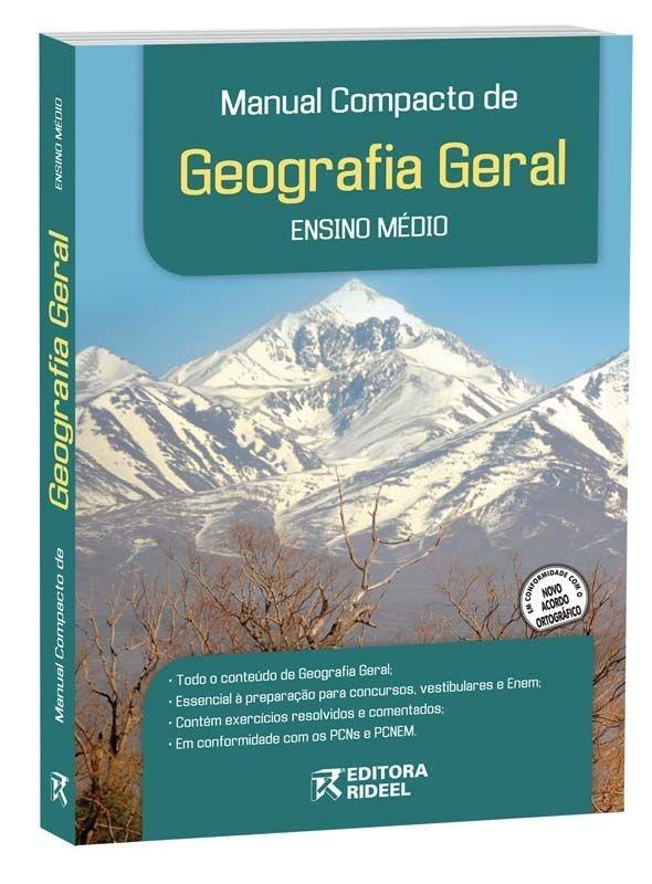 Imagem - Manual Compacto de Geografia Geral - Ensino Médio - 9788533916586