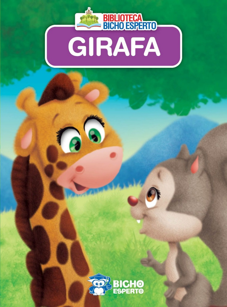 Imagem - Biblioteca Animais - Girafa - 9788533943117
