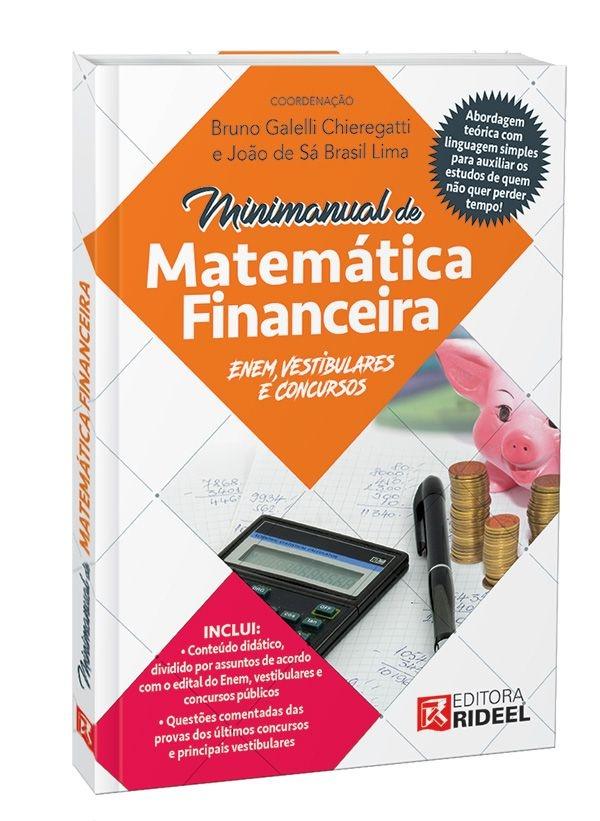 Imagem - Minimanual de Matemática Financeira: Enem, vestibulares e concursos  cód: 9788533941960