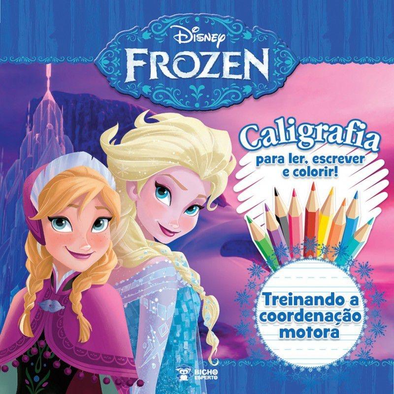 Imagem - Caligrafia Frozen - Treinando a Coordenação Motora  cód: 9788533936027