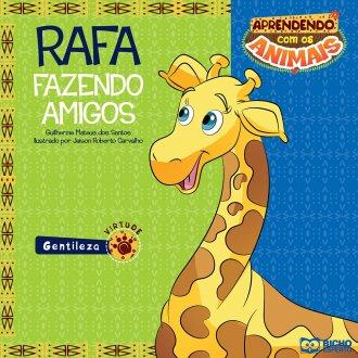 Imagem - Aprendendo com os Animais - Rafa - Fazendo Amigos cód: 9788533929548