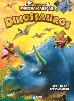 Imagem - Aprendendo com Quebra-Cabeça - Dinossauros cód: 9788533959491
