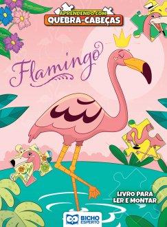 Imagem - Aprendendo com Quebra-Cabeça - Flamingo cód: 9788533959576