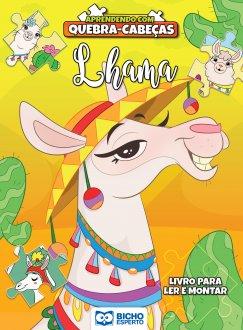 Imagem - Aprendendo com Quebra-Cabeça - Lhama cód: 9788533959569